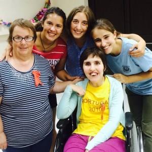 Foto férias com deficientes