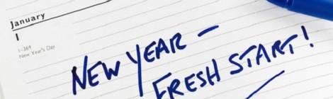 Resoluções diárias de ano novo